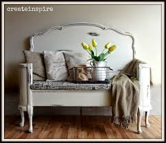 repurposed antique furniture. createinspire antique headboard to bench in white recycling furniturerepurposed repurposed furniture o