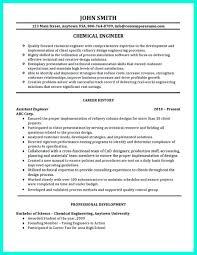 Chemical Engineer Resume Sugarflesh