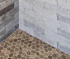 mosaic shower floor tile. Hex Floor Tile. Triangle Shower Tile Mosaic O