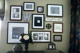 family photo frame wall ideas portrait picture collage frames decor adorable layout gallery decorating fascinating de