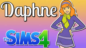 Making Daphne (Scooby-Doo) In Sims 4 CAS. - YouTube