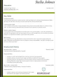 Resume 2017 Examples Resume Examples For Teens Hot Tips To Win