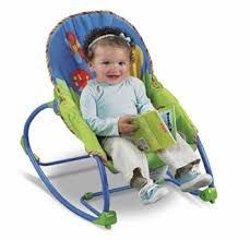 Amazon.com : Fisher-Price Infant-to-Toddler Rocker, Bug Friends ...