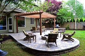 paver patio with pergola. Paver Patio, Pergola, Fire Pit, Seat Wall, Lighting Contemporary-patio Patio With Pergola H