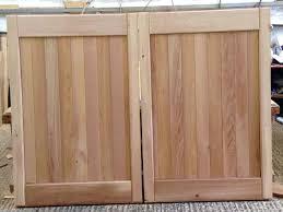 side hung timber garage doors uk designs