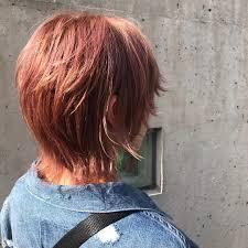 ウルフカットが似合う女性の特徴と髪型18選ショートミディアム