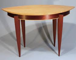 mahogany hall table. Curly Maple And Mahogany Hall Table