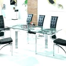extendable round glass dining table extendable glass dining table sets extendable glass dining table sets round