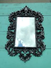large ornate frame apartment interior supply jobs vintage mirror wall gilded white picture frames uk