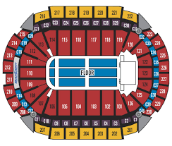 Xcel Energy Concert Seating Chart Seating Charts Xcel Energy Center