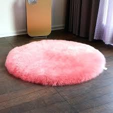 round sheepskin rugs big round real sheepskin rug for home decor sheep skin fur ground mat round sheepskin rugs