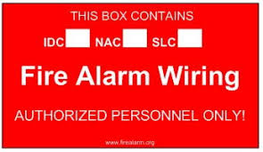 paint the junction boxes red? fire alarm conduit fill chart at Fire Alarm Wiring In Conduit