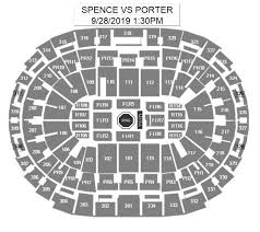 Staples Center Seating Chart For Ufc Spence Jr Vs Porter Staples Center