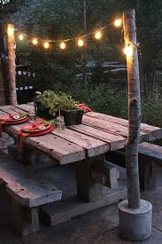 do it yourself outdoor lighting. diy string light poles in under one hour for less than 100 lights bonfires and barn do it yourself outdoor lighting p