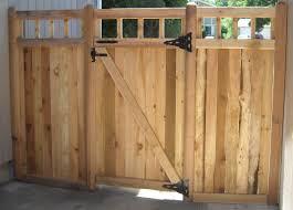 Plain Wood Fence Gate Plans H With Decor