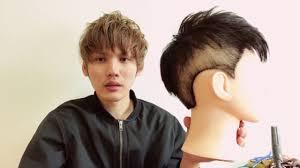 メンズ髪型スポーツカット風 ツーブロック髪の切り方 Youtube In