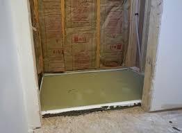 shower pan tile ready installing preformed shower pan tile ready tile ready shower pan problems