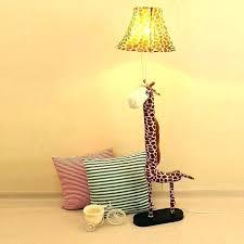 baby room floor lamps for nursery giraffe lamp white boy