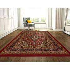 red and brown rug collection oriental design dark red 8 ft x ft area red brown