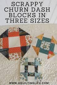 Scrappy Churn Dash Blocks | Free pattern, Patterns and Blog & Scrappy Churn Dash Blocks. Pattern BlocksQuilt ... Adamdwight.com