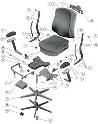office chair parts. Parts Office Chair E