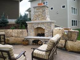 cost of firerock outdoor fireplace