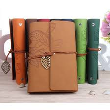 145 105mm classic retro notebook leather blank diary note book journal sketchbook 8 colors a mariuszkobiela me