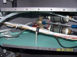 rv 12 n79am fuselage wiring harness part 3 final in light of that i made an internally threaded aluminum tube as a standoff to attach an adele clamp which could support the wiring harness as shown below