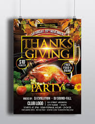 thanksgiving party flyer thanksgiving party flyer template by arrow3000graphics on deviantart