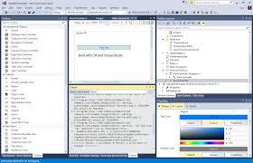 View Designer In Visual Studio 2015 Cross Platform And Mobile Development Visual Studio 2015