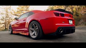 2013 Chevy Camaro SS fitted with staggered 20 inch BD-21 in Dust ...