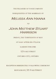 Sample Wedding Invitation Wording Examples Of Wedding Invitations Need Help Writing Wedding