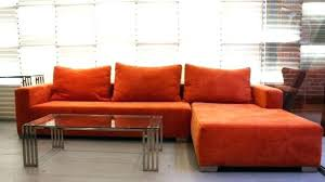 orange sectional sofa modern mesmerizing great fit for best family n28