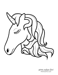 Unicorns in love printable card to color. Top 100 Magical Unicorn Coloring Pages The Ultimate Free Printable Collection Print Color Fun