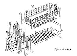 Twin Bunk Bed Plans for Creative of Bunk Bed With Stairs Plans There