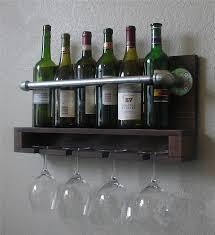 Hanging Wine Rack Ikea Incredible Nordic Ikea Wood Grilled Retro Color Wall  Mounted Wi on Wine