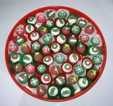 christmas cake balls. Delighful Balls Christmas Cake Balls Throughout K