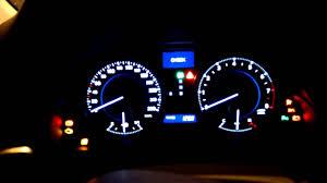 Lexus Is 250 Dashboard Warning Lights Lexus Is250 Dashboard Youtube