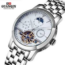 online buy whole classic mens watches top 10 from guanqin classic men watches 30m waterproof watch tourbillon mechanical wristwatch top brand montre homme relogio masculino