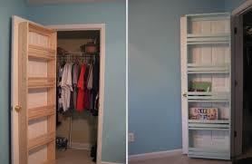 diy closet organizer door shelf