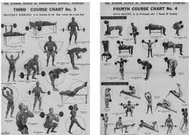 Joe Weider S Bodybuilding System Book And Charts 1950 Weider Barbell Course Bodybuilding Com Forums