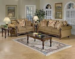 Serta Living Room Furniture Macy Chestnut Wood Apron Sofa And Loveseat By Serta Upholstery