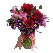 follow your heart bouquet 34 99 shown 48 99 upgraded red roses purple mums