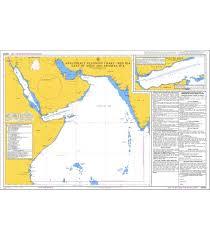 British Admiralty Nautical Chart Q6099 Anti Piracy Planning Chart Red Sea Gulf Of Aden And Arabian Sea