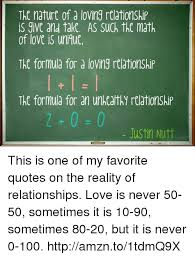 Unh Quote Beauteous The Nature Of D Loing Relationship Is And Take AS Such The Math Of