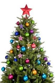 Image of a fully decorated Christmas tree Rotating Tree Stand | LoveToKnow