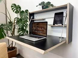 office drop down floating desk modern