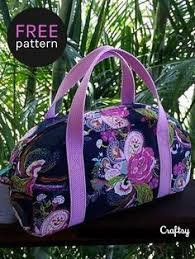 Free Pattern Overnight Duffel Bag #duffelbag #freesewingpattern ... & Sew your own travel bag. This free sewing pattern is perfect beginner  project. Adamdwight.com
