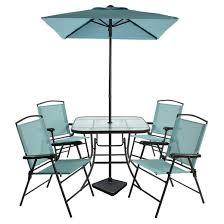 folding patio furniture set. 7pc metal folding patio dining set furniture