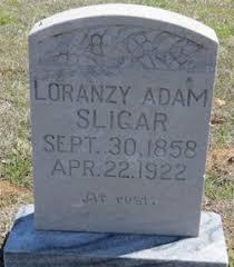 Loranzy Adam Sligar (1858-1922) - Find A Grave Memorial